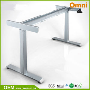 Manual Modern Height Adjustable Table pictures & photos
