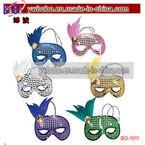 Party Items Sequin Feather Mardi Masks Mardi Party Gift (BO-1011) pictures & photos