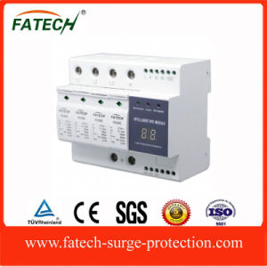 Compact intelligent lightning surge protection device SPD pictures & photos