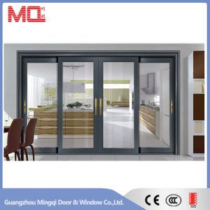 Aluminum Double Leaf Glass Door pictures & photos