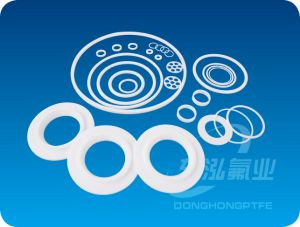 Teflon Gasket Rubber Seal Plastic Products PTFE Gasket pictures & photos