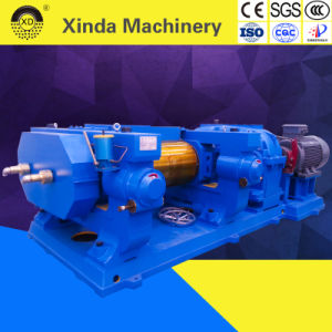 Xkp Double Roller Rubber Grinder Tire Recycling Plant pictures & photos