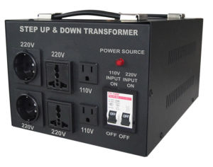 Universal 5kVA Step up/Down Voltage Transformer pictures & photos