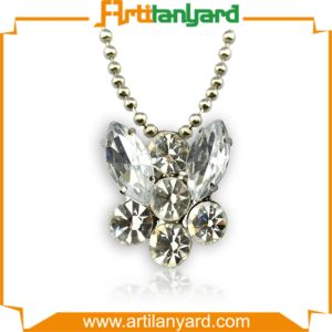 Customized Woman Jewelry Crystal Necklace pictures & photos