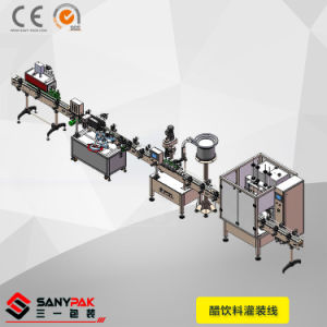 China Vinegar/Juice/Beverage/Water Liquid Customized Packing Line pictures & photos