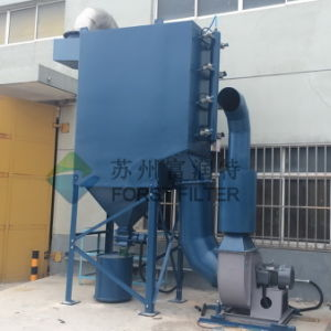 Forst Paper Powder Mixing Plant Dust Collector System pictures & photos