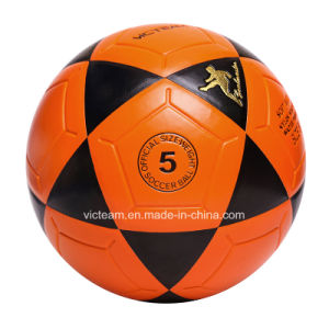 Club-Level Tough Official Size 5 4 3 Soccer Ball pictures & photos