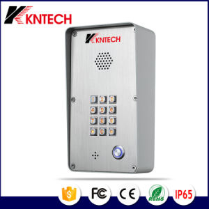 Outdoor Door Phone Knzd-43A Illuminated Button Keypad Access Control Kntech pictures & photos