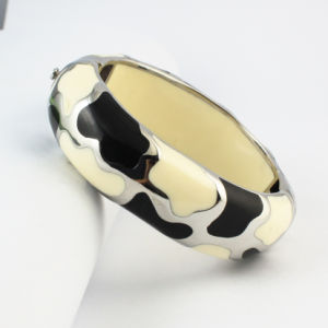 Drip Oil Plain Stainless Steel Bangle Jewelry pictures & photos