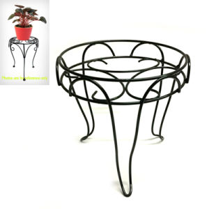 Home and Garden Decoration Linellae Simple Stool Flowerpot Stand pictures & photos