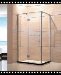 Sliding Shower, Brushed Stainless Steel Finish pictures & photos