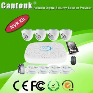4CH 720p Full CCTV Package IP Camera NVR Kit (NVRPA9104SLH10) pictures & photos