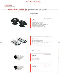 Laboratory Centrifuge/ Mddical Centrifuge/ Palm Micro Centrifuge/ Mini Centrifuge /Pocket Centrifuge pictures & photos