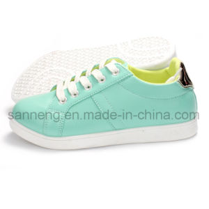Casual Women Shoes with Injected Outsole (SNC-45034) pictures & photos