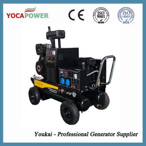 Air Compressor and Diesel Welder Generator 5kVA pictures & photos