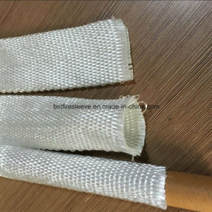 High Temperature Insulation Hose and Cable Woven Glass Fiber Sleeving pictures & photos