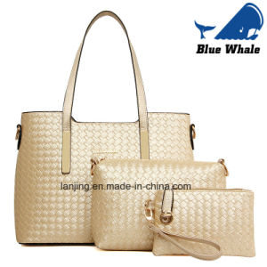 Fashionable Designer PU Leather Tote Hand Bag pictures & photos