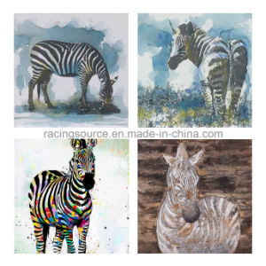 Abstract Animal Printing Canvas Handmade Oil Canvas Painting pictures & photos