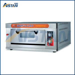 Htr-20q Stainless Steel 1 Layer-2 Tray Gas Deck Oven for Kitchenware-Model#Htr-20q pictures & photos