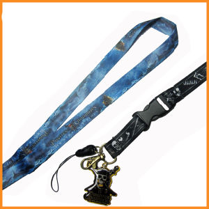 Customized Color Dye Sublimated/Thermal Transfer Logo Custom Lanyard for Workers pictures & photos