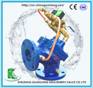 Angle Type Diaphragm Actuated Sludge Discharge Suction Valve (100S) pictures & photos