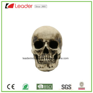 Polyresin Skull Ashtray Figurines for Halloween and Home Decoration pictures & photos