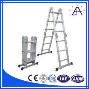 Cast Aluminium Profile for Alloy Ladder & High Hardness Profile pictures & photos