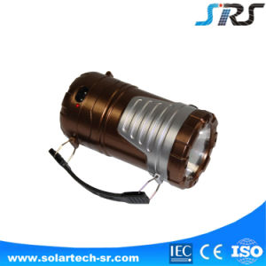 High Quality Solar Portable Mini LED Lantern with Mobile Phone Charger Hot Sale pictures & photos