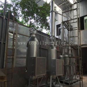 Waste Black Engine Oil Motor Oil Distillation System (EOS) pictures & photos