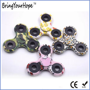 Fidget Hand Spinner in Color Painting (XH-HS-001C) pictures & photos