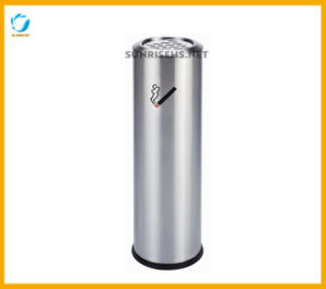 Outdoor Standing Stainless Steel Cigarette Bin pictures & photos
