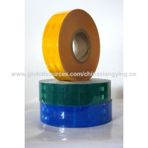 Black and Yellow Color Arrow Honeycomb Reflective Safety Tapes pictures & photos