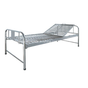 BS-717A One Function Manual Hospital Bed (medical equipment, hospital furniture) pictures & photos