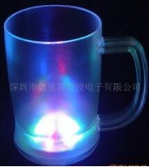 LED Flashing Frosted Beer Cup pictures & photos