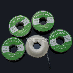 Dental Supplies Clear Transparent 15 Feet Orthodontic Elastic Chain pictures & photos