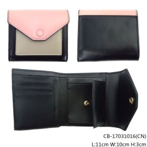 Lady′s Fashion Quality PU Leather Purse (CB-17031016) pictures & photos