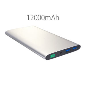 Ultra Slim 20000mAh 15000mAh 12000mmah Power Bank Dual USB pictures & photos