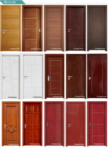 Classic Tongue and Groove White MDF Door pictures & photos