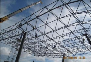 Steel Structural Grid Structure for Commercial Steel Roofings pictures & photos