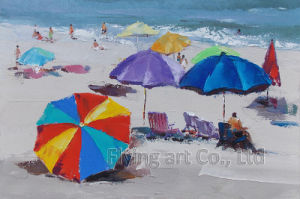 Aluminum Base Impressionism Oil Painting for Seascape pictures & photos