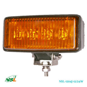 12W, 24W LED Work Light Lamps, off Road Light, 1075lm /1650lm PC High Quality White & Yellow Lens Offered, 3W /5W CREE LEDs LED Lights (NSL-1204J-12W) pictures & photos