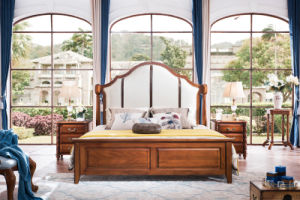 New Wooden Furniture American Country Style Bedroom Furniture (AD812) pictures & photos