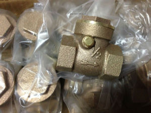Bronze Material Check Valve with Bottem Price pictures & photos