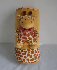 Plush Cow Cushion with Soft Material and Beautiful Embroidery pictures & photos