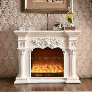Ce Approved Home Furniture European LED Lights Electric Fireplace (318SS) pictures & photos