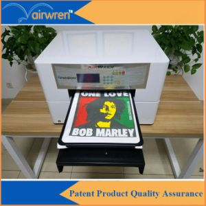 Digital A3 T-Shirt Printing Machine High Speed Textile DTG Bag Printer with Multi-Function pictures & photos