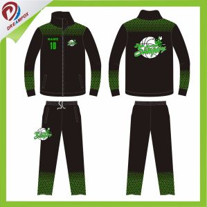 Men Women Plain Custom Sublimated Soccer Tracksuit with Your Logo pictures & photos