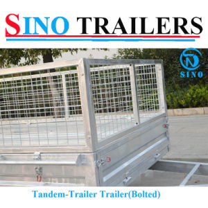Low Price Tandem Axle Box Trailer pictures & photos