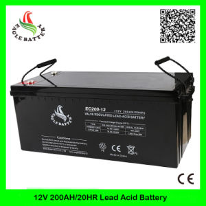 12V 200ah Mf Rechargeable VRLA Long Life Lead Acid Battery