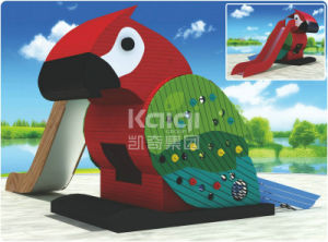 Kaiqi Park Overall Planning Series Hot Sellling Parrot Slide (KQ60097D) pictures & photos